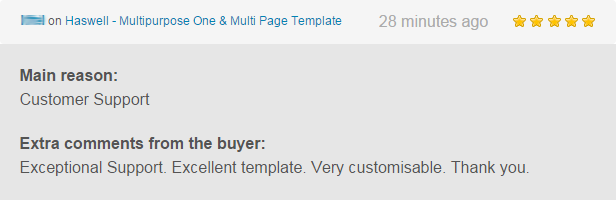 haswell html7 - Haswell - Multipurpose One & Multi Page Template
