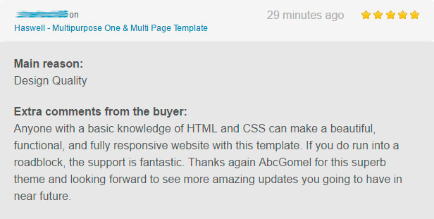 haswell html8 - Haswell - Multipurpose One & Multi Page Template