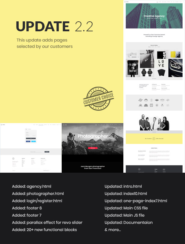haswell update 2.2c - Haswell - Multipurpose One & Multi Page Template