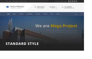 header 1 - Mega Project - Construction WordPress