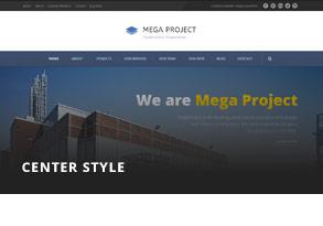 header 2 - Mega Project - Construction WordPress