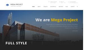 header 3 - Mega Project - Construction WordPress