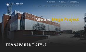 header 4 - Mega Project - Construction WordPress