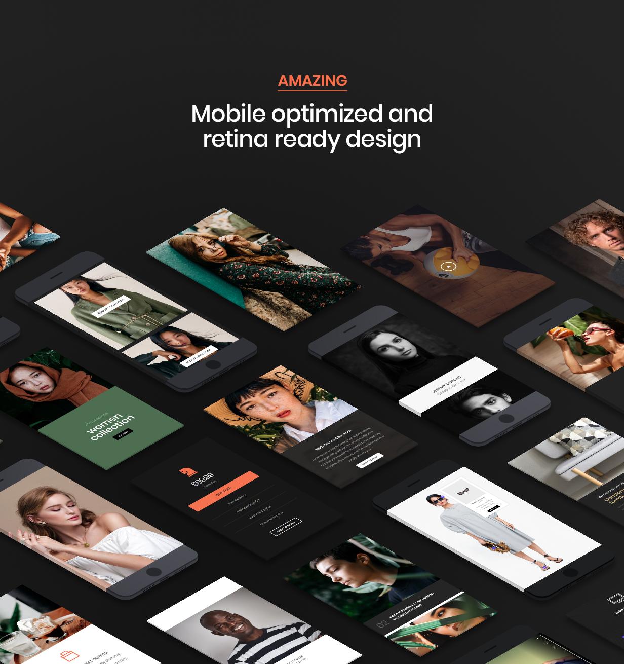 hongo theme retina ready - Hongo - Modern & Multipurpose WooCommerce WordPress Theme
