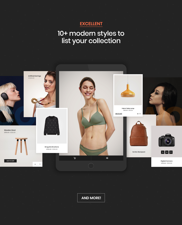 hongo theme shop style - Hongo - Modern & Multipurpose WooCommerce WordPress Theme
