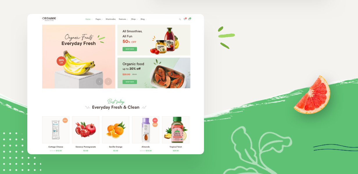 new2 - Organik - Organic Food Store WordPress Theme