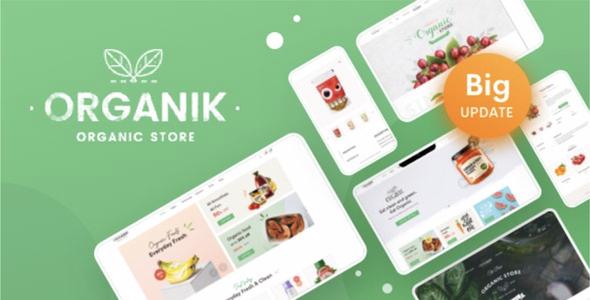 organik.  large preview - Organik - Organic Food Store WordPress Theme