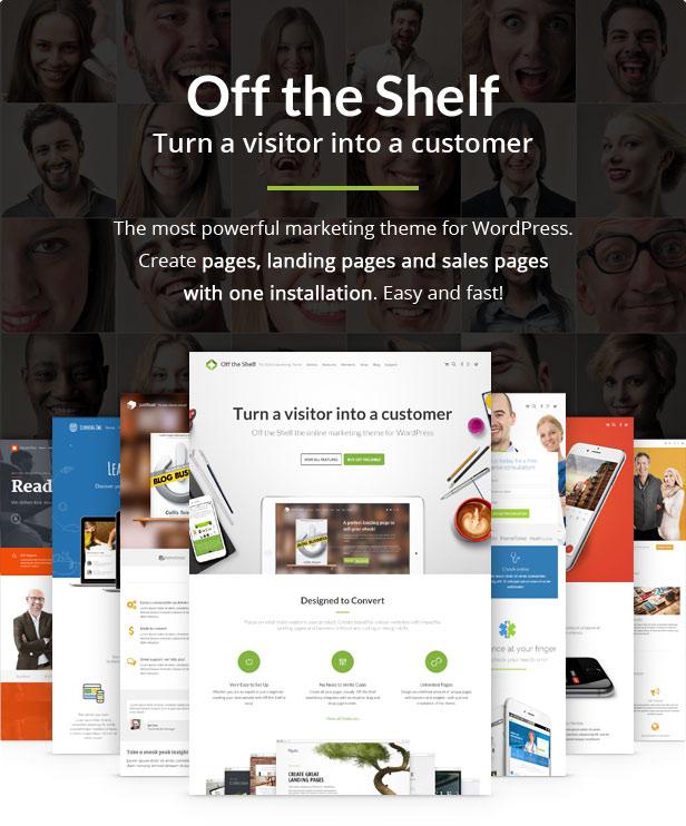 ots teaser - Off the Shelf - Online Marketing WordPress Theme