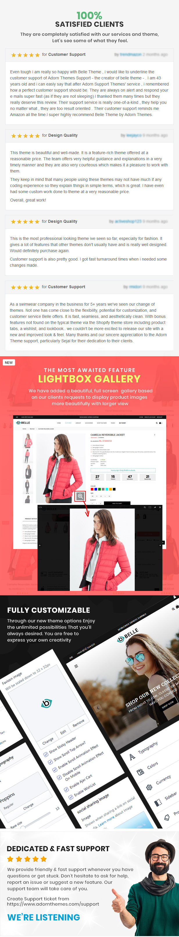 preview 4 - Belle - Clothing and Fashion Shopify Theme