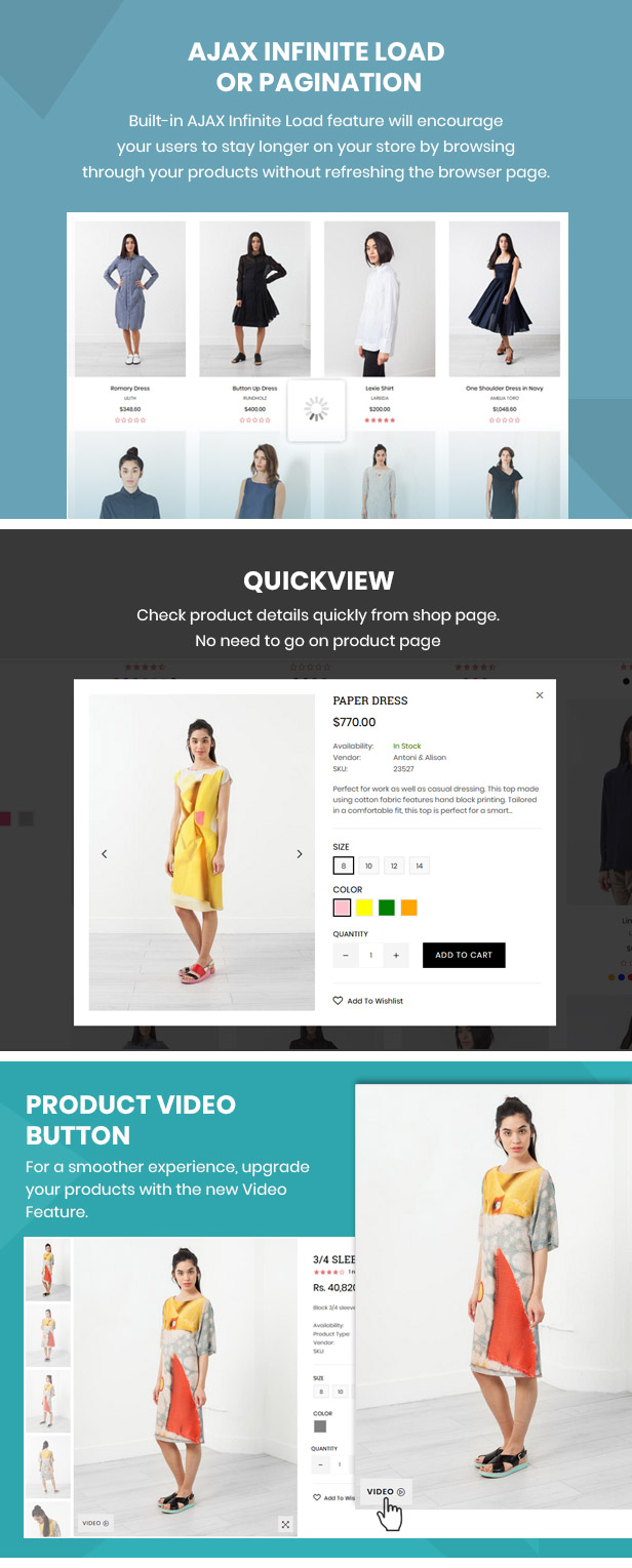 preview 8 - Belle - Clothing and Fashion Shopify Theme