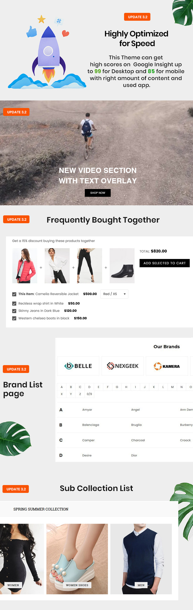 preview v32 - Belle - Clothing and Fashion Shopify Theme