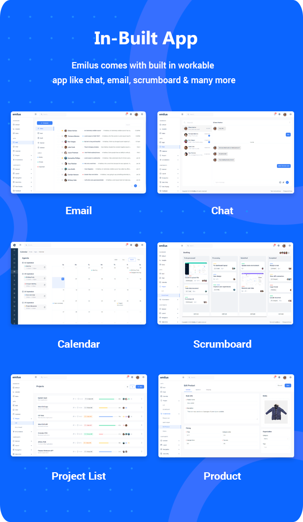 preview3 - Emilus - React Admin Template