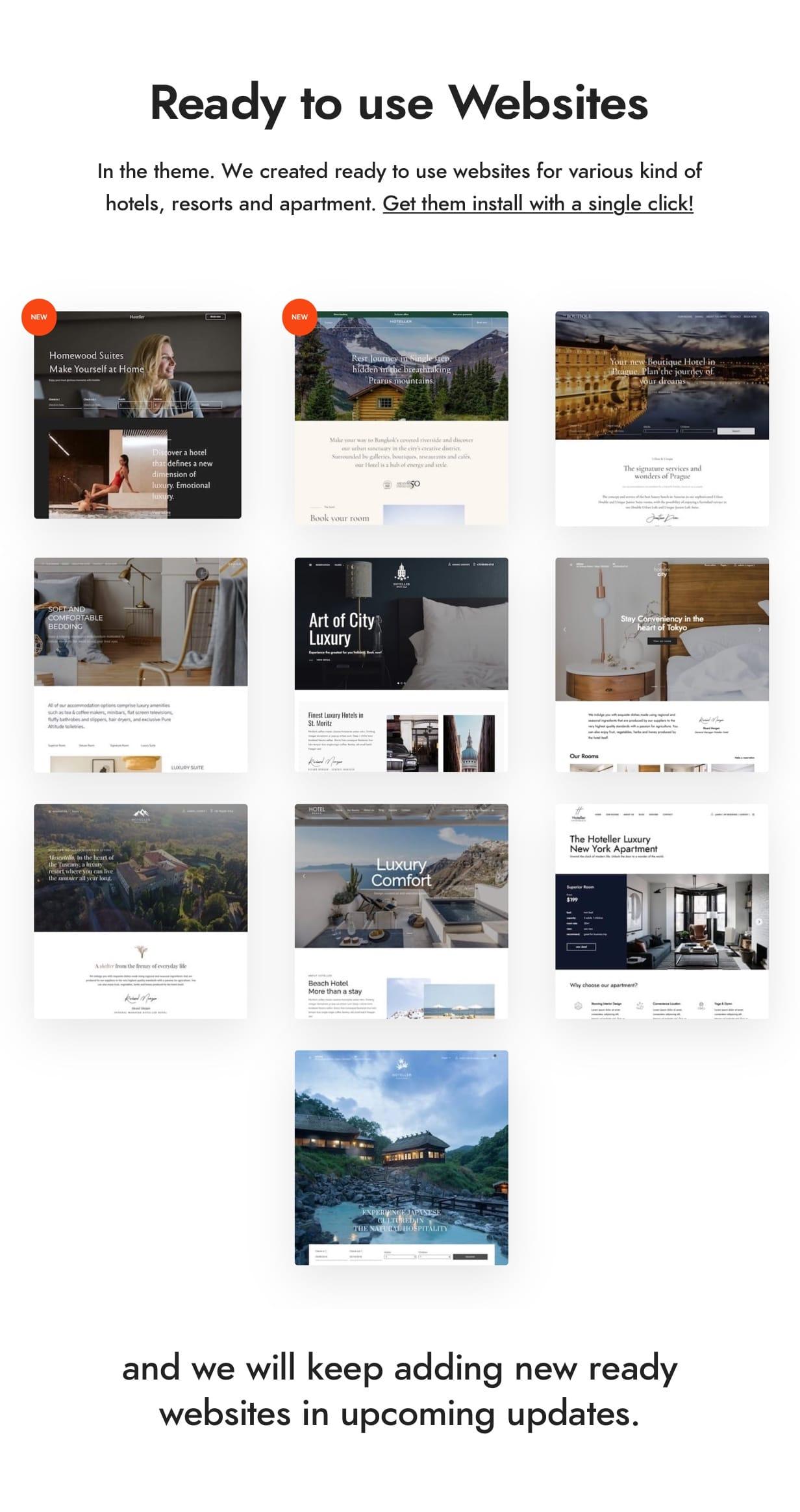 ready sites4 - Hotel Booking WordPress