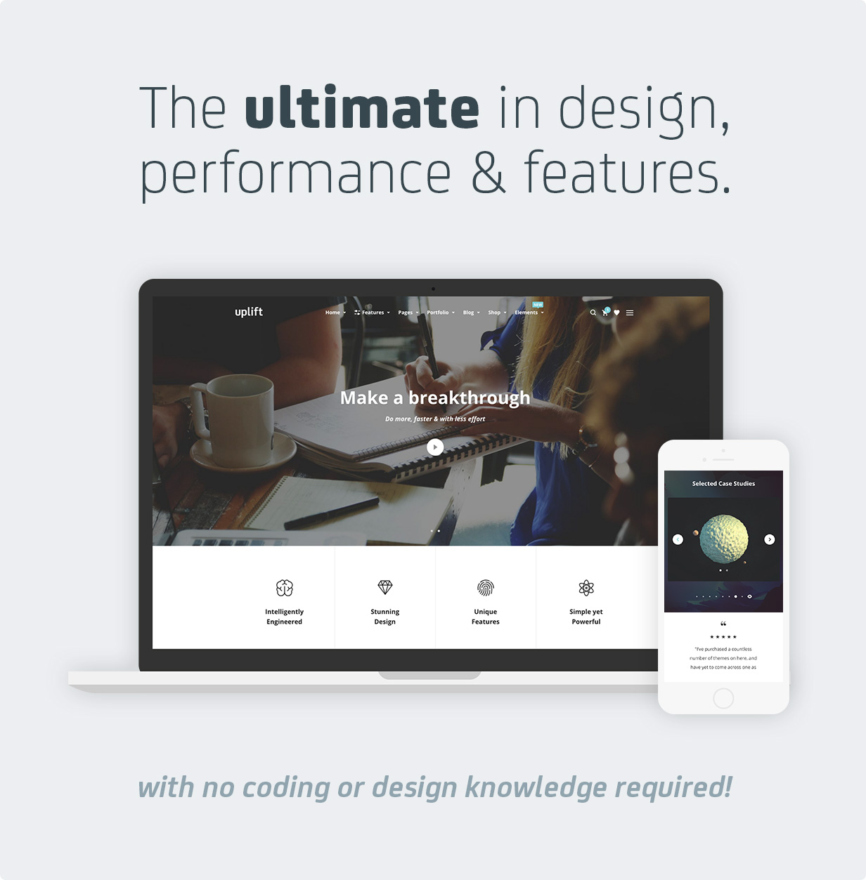 uplift 1 hero v3 - Uplift - Responsive Multi-Purpose WordPress Theme