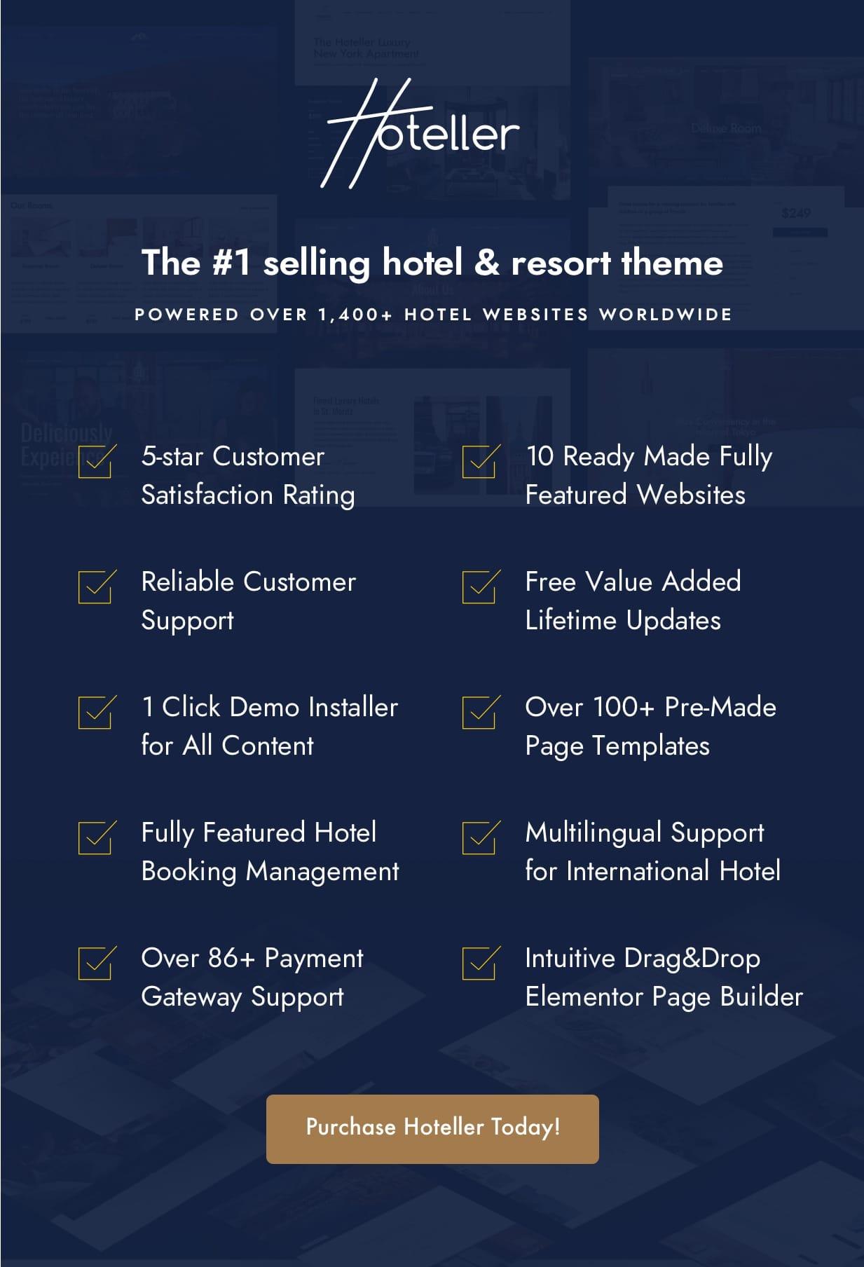 why3 - Hotel Booking WordPress
