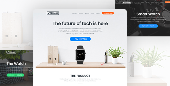00  large preview.  large preview - Techland - Saas Startup Technology Marketing Agency WordPress Theme