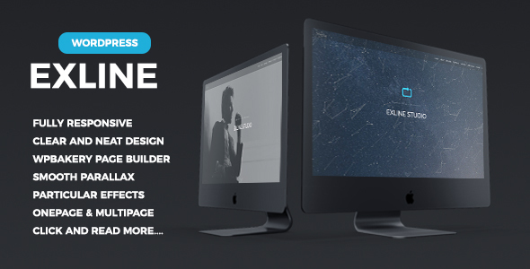 00 preview exline onepage theme.  large preview - Techland - Saas Startup Technology Marketing Agency WordPress Theme