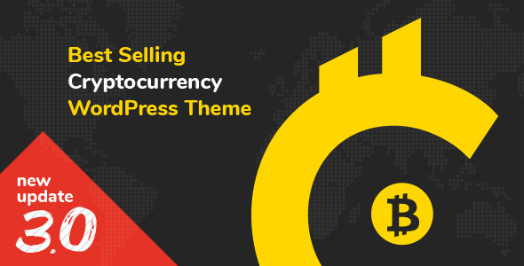 01 Main Preview Cryptic.  large preview - Cryptic - Cryptocurrency WordPress Theme