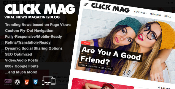 01 preview1.  large preview - Click Mag - Viral WordPress News Magazine/Blog Theme