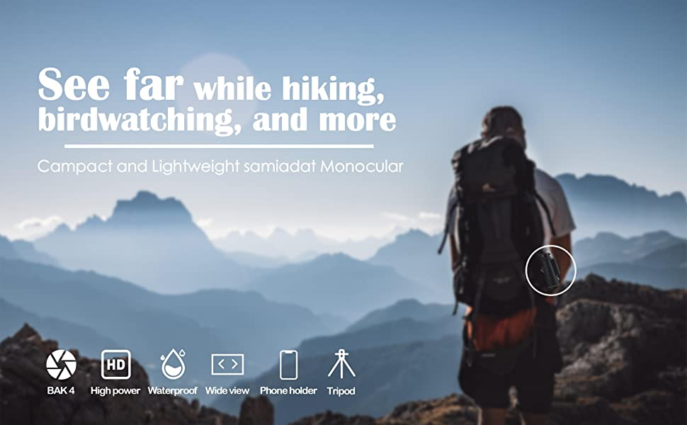 033684c1 87df 44fa 9ec4 868c16cb85aa.  CR0,9,2880,1781 PT0 SX970 V1    - Monocular Telescope, 12X50 High Definition BAK4 Prism Monocular with Smartphone Holder & Tripod for Hunting Hiking Traveling Bird Watching