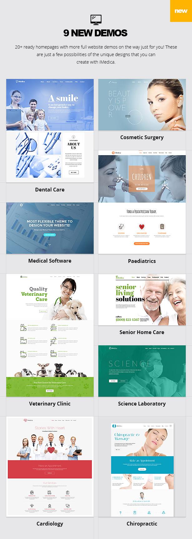 13 - iMedica - Responsive Medical & Health WP Theme