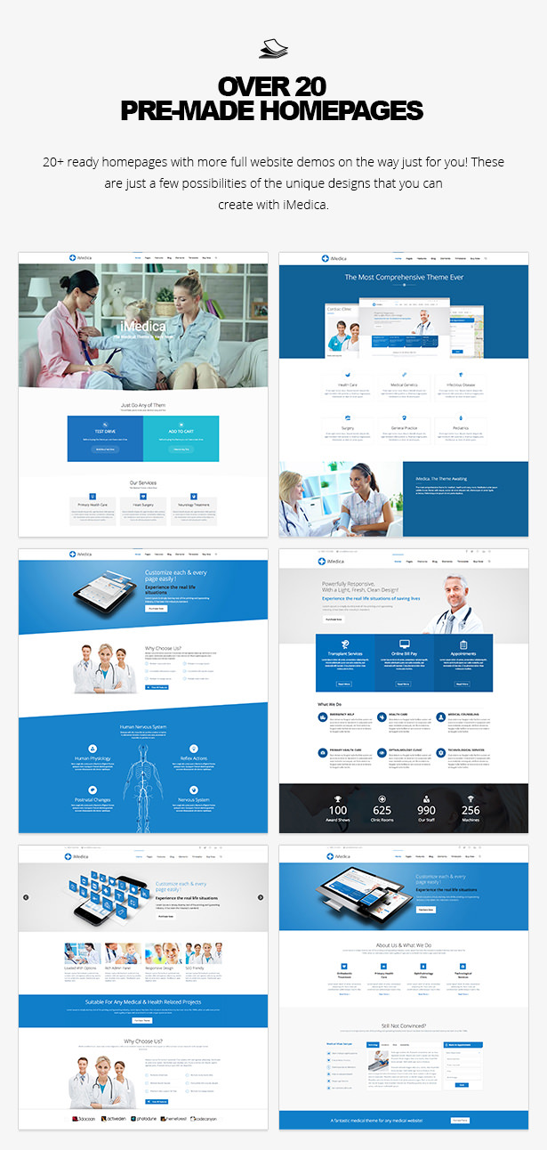 15 - iMedica - Responsive Medical & Health WP Theme