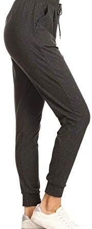 1630642883 31cKgvHXI6L. AC  179x445 - Leggings Depot Women's Printed Solid Activewear Jogger Track Cuff Sweatpants