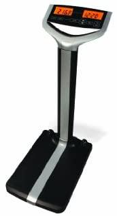1630989364 31VAbansO3L. AC  - Accuro DBW100 Waist Level Digital Medical Scale, 500 lb./227kg Capacity, Calculates BMI