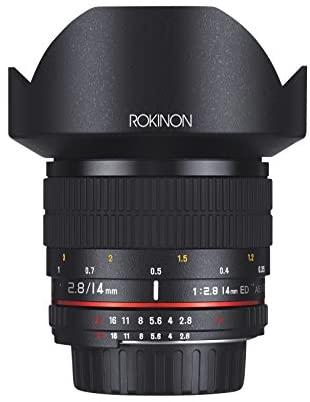 1631466287 4148Pwe1HqL. AC  - Rokinon FE14M-C 14mm F2.8 Ultra Wide Lens for Canon (Black)