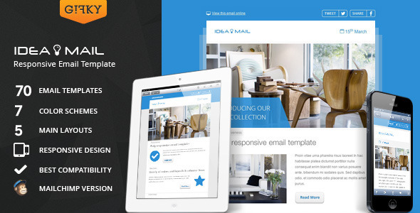 1631605981 712 1.  large preview - Idea Mail - Minimal & Responsive Email Template