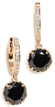 1632636110 31lUl2Jq gL. AC  - Kate Spade New York Women's Pave Huggie Earrings