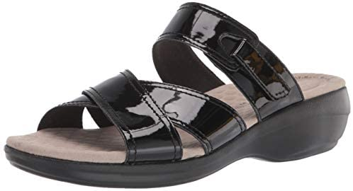 1632766358 31L1vnwB66L. AC  - Clarks Women's Alexis Art Flat Sandal
