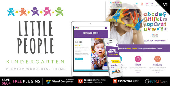 1632821520 647 01 Preview.  large preview - Little People   Kindergarten WordPress Theme for PreScool