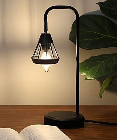1632896776 41mJrv6f hS. AC  374x445 - DEWENWILS Industrial Table Lamp with USB Port, 3 Way Dimmable Desk Lamp, Modern Touch Control Bedside Nightsand Lamp for Bedroom, Office, Living Room, 3000K E12 Bulb Included