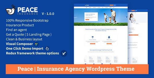 1632951412 971 preview.  large preview - Peace – Insurance Agency WordPress Theme