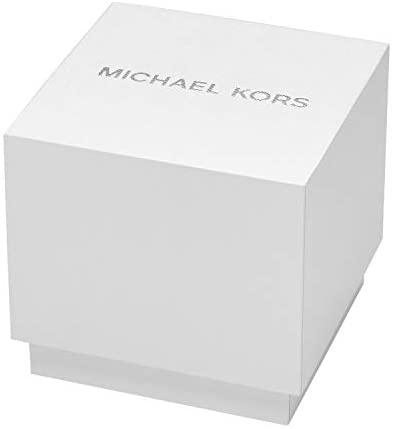 21 lB fBfoL. AC  - Michael Kors Women's Slim Runway Three-Hand Stainless Steel Quartz Watch
