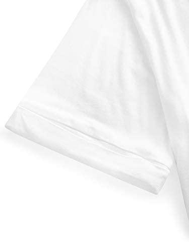 21QHGKbRnbL. AC  - SheIn Women's Summer Short Sleeve Loose Casual Tee T-Shirt
