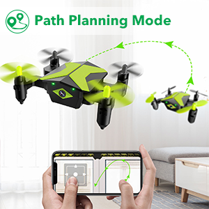 24c792ca b45d 450f a373 e2dceedb83cd.  CR0,0,300,300 PT0 SX300 V1    - Drone with Camera Drones for Kids Beginners, RC Quadcopter with App FPV Video, Voice Control, Altitude Hold, Headless Mode, Trajectory Flight, Foldable Kids Drone Boys Gifts Girls Toys-Green