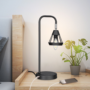 28953a4d 3b33 468d a319 2abf5179de80.  CR0,0,300,300 PT0 SX300 V1    - DEWENWILS Industrial Table Lamp with USB Port, 3 Way Dimmable Desk Lamp, Modern Touch Control Bedside Nightsand Lamp for Bedroom, Office, Living Room, 3000K E12 Bulb Included