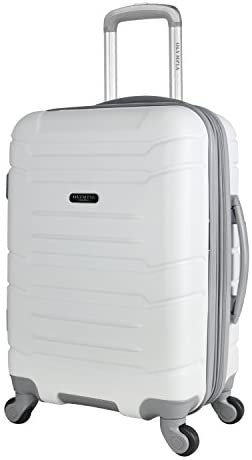 """31I9gRjrFCL. AC  - Olympia Denmark 21"""" Carry-on Spinner, White"""