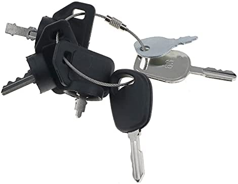 31lL05D7opS. AC  - Solarhome Lawn Mower 6 Keys Lawn Mower Keys Set 103-2106 09287000 GY20680 430-009 Compatible with AYP Husqvarna Toro Zero Turn Riding Garden Lawn Mower Tractor