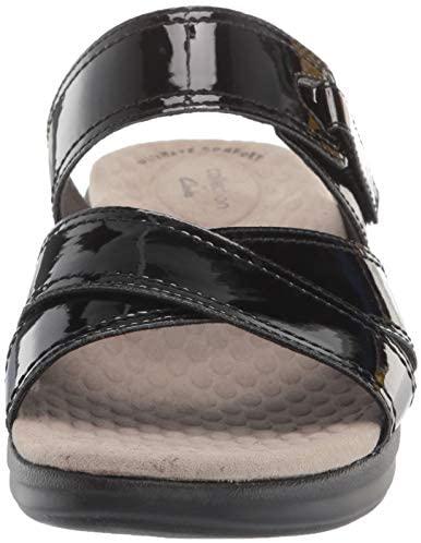 41+aC6lzRQL. AC  - Clarks Women's Alexis Art Flat Sandal