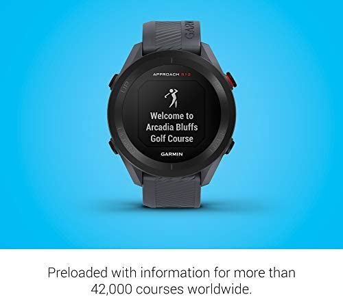 412BY+mG+NL. AC  - Garmin Approach S12, Easy-to-Use GPS Golf Watch, 42k+ Preloaded Courses, Granite Blue, 010-02472-01