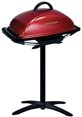 412RtTTQ8yL. AC  - George Foreman 12-Serving Indoor/Outdoor Rectangular Electric Grill, Red, GFO201R
