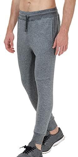 413FbU5NcBL. AC  - snowhite Mens Casual Jogger Sweatpants Pants - Leisure Fashion Sport Pants with Pockets and Elastic Waist