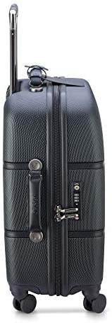 414x OwCS5L. AC  - DELSEY Paris Chatelet Hardside Luggage with Spinner Wheels, Black, Carry-on 21 Inch, with Brake