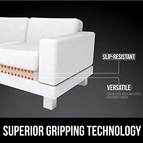 418fnkq n+L. AC  - Gorilla Grip Original Slip Resistant Couch Cushion Gripper Pad, Helps Keep Sofa Cushions from Sliding, Grip Pads Work on Sofas and Couches, Easy to Trim, Strong Durable Grips Help Stop Slipping