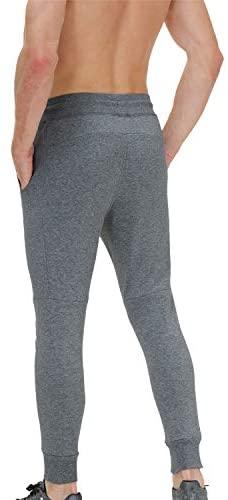 41CO7Z5EAHL. AC  - snowhite Mens Casual Jogger Sweatpants Pants - Leisure Fashion Sport Pants with Pockets and Elastic Waist