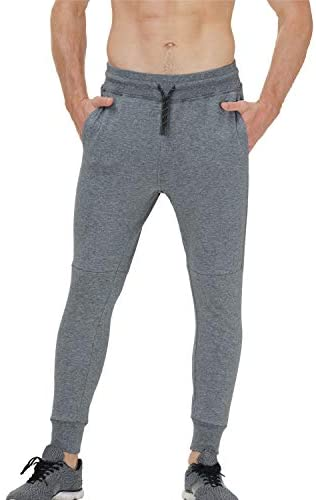 41E0hSmMCPL. AC  - snowhite Mens Casual Jogger Sweatpants Pants - Leisure Fashion Sport Pants with Pockets and Elastic Waist
