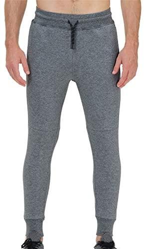 41F9ckn4PYL. AC  - snowhite Mens Casual Jogger Sweatpants Pants - Leisure Fashion Sport Pants with Pockets and Elastic Waist